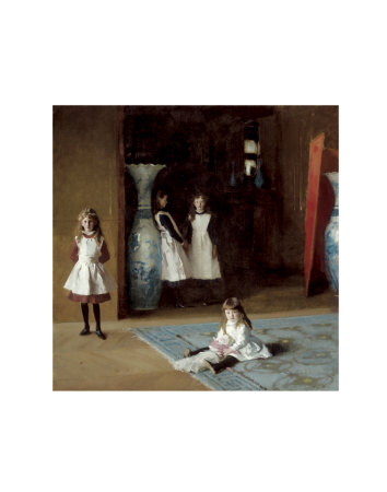 The Daughters of Edward Darley Boit, c.1882 Prints by John Singer Sargent