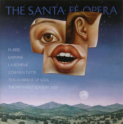 The Santa Fe Opera, 2007 Season Poster by Michael Bergt