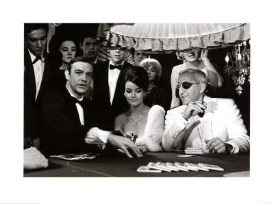 James Bond at the Casino, Thunderball Kunsttryk