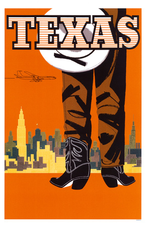 Texas- Braniff International Airways Masterprint
