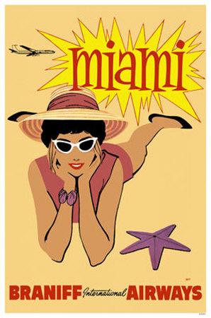 Miami- Braniff International Airways Masterprint
