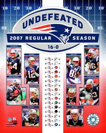Patriots Undefeated Photo