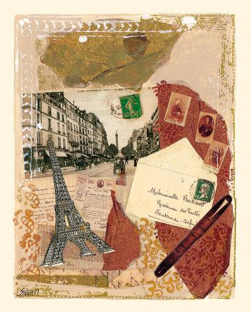 Quartier de Paris Prints by M. Sigrid
