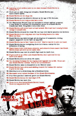 Chuck Norris- Facts #2 Poster