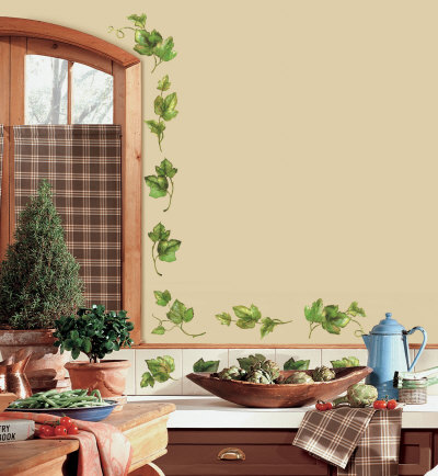 Evergreen Ivy Wall Decal