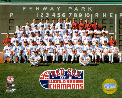 Boston Red Sox- World Series Champions Photographie