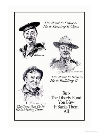 Liberty Bond Prints by James Montgomery Flagg