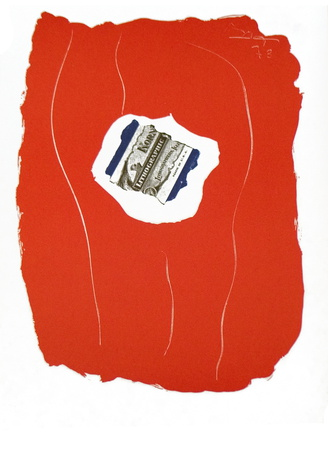 Tricolor from XXieme Siecle Collectable Print by Robert Motherwell