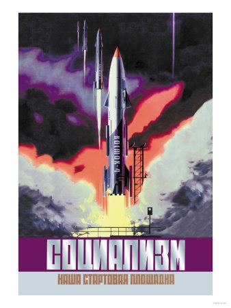 Socialism, The Vostok Rocket Prints