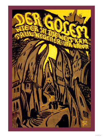 Der Golem Premium Poster
