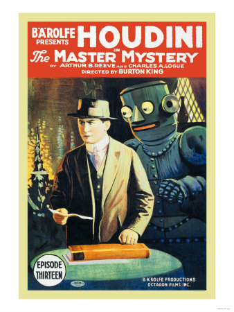 The Master of Mystery - Houdini Posters