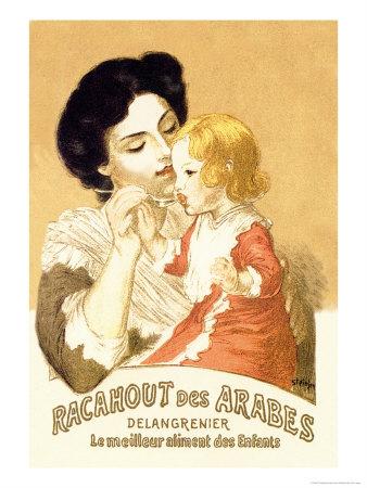 Racahout des Arabes, c.1900 Art by Théophile Alexandre Steinlen
