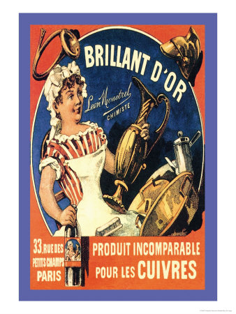 Brillant d'Or, c.1885 Posters by Théophile Alexandre Steinlen