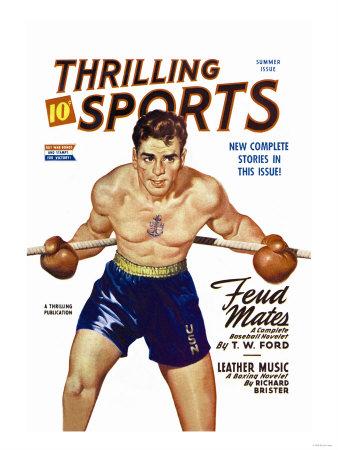 Navy Boxer Prints
