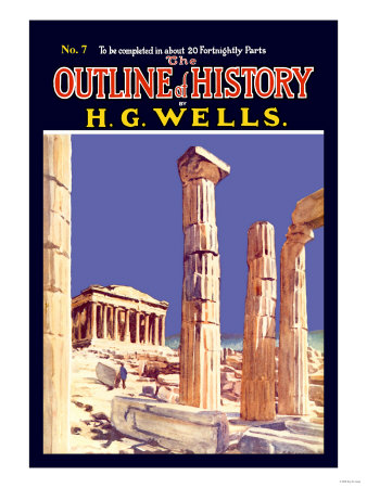 Outline of History by H.G. Wells, No. 7: Ruins Posters