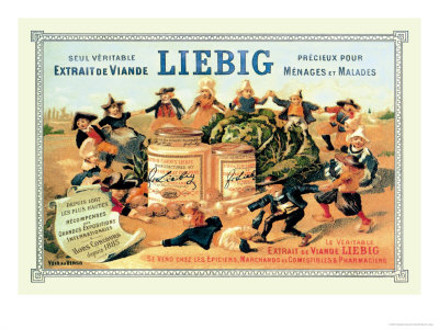 Liebig, Meat Extract, c.1889 Prints by Théophile Alexandre Steinlen
