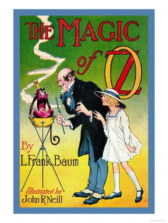 The Magic of Oz Posters by John R. Neill