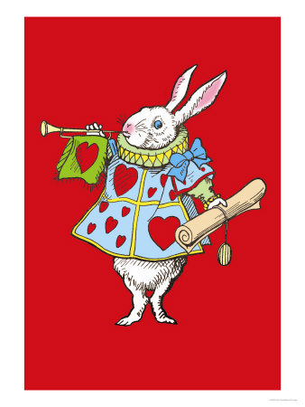 Alice in Wonderland: Horn and Hearts Posters by John Tenniel