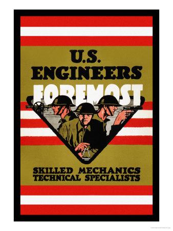 U.S. Engineers Foremost Prints by Charles Buckles Falls