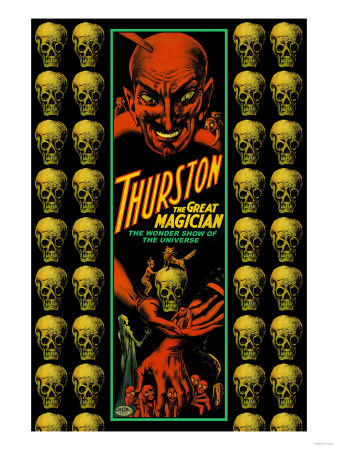 Thurston the Great Magician the Wonder Show of the Universe Posters