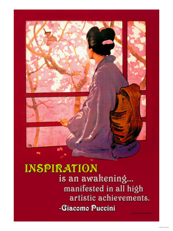 Inspiration: Madame Butterfly Posters