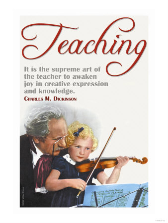 The Supreme Art of the Teacher Art