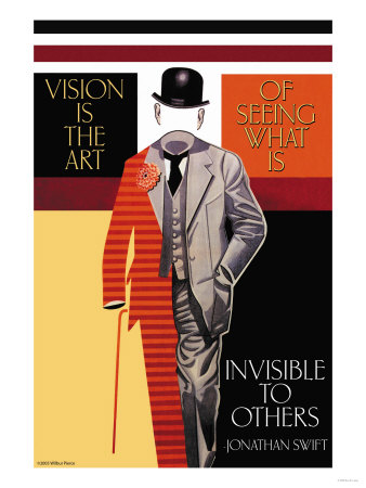 Vision is the Art Premium Poster