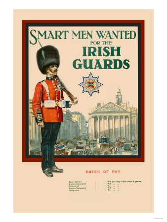 Irish Guards Prints