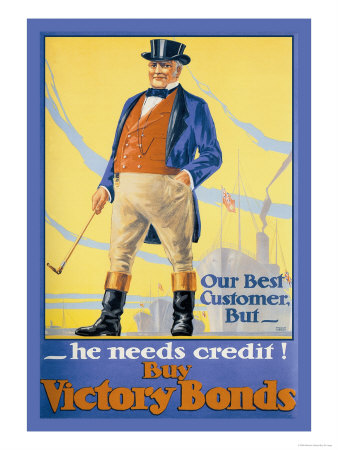 Our Best Customer But, He Needs Credit! Print by Malcolm Gibson