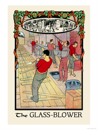 The Glass-Blower Posters by H.o. Kennedy