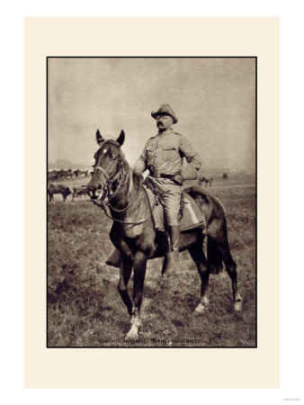 Colonel Roosevelt of the Rough Riders Premium Poster