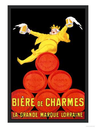 Biere de Charmes Art by Jean D' Ylen