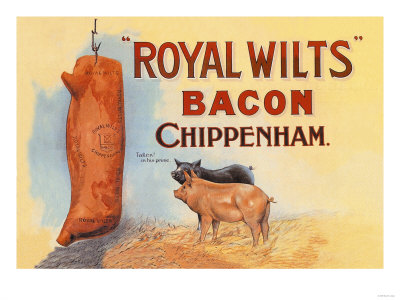 Royal Wilts Bacon Premium Poster