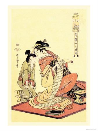 The Hour of the Dog Poster by Kitagawa Utamaro