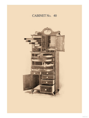 Dentist's Cabinet Print