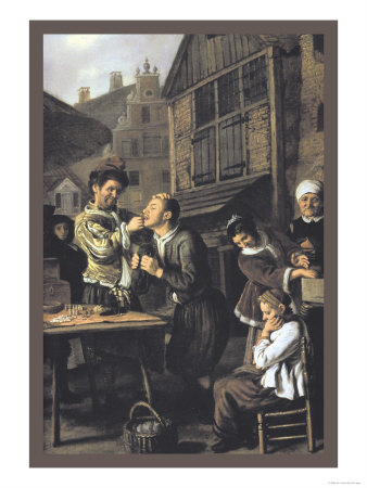 Dentist with an Audience Prints by Jan Victors