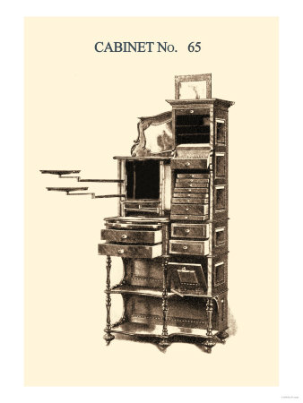 Dentist's Cabinet Prints
