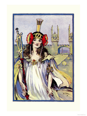The Princess of Oz Prints by John R. Neill