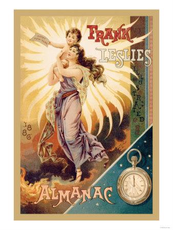 Frank Leslie's Illustrated Almanac: Happy New Year, 1886 Prints