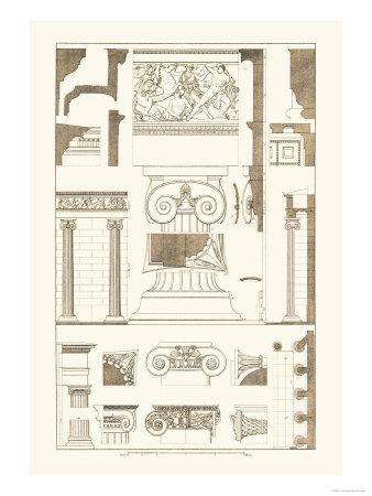 Ionic Capitals Prints by J. Buhlmann