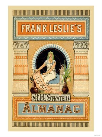 Frank Leslie's Illustrated Almanac: Egypt, 1880 Posters