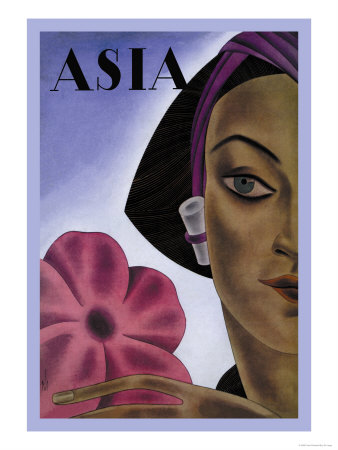 Sumatran Mode in Millinery Posters by Frank Mcintosh