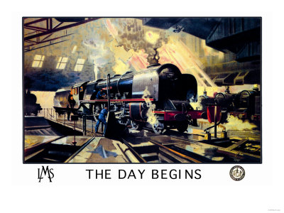 The Day Begins Premium Poster