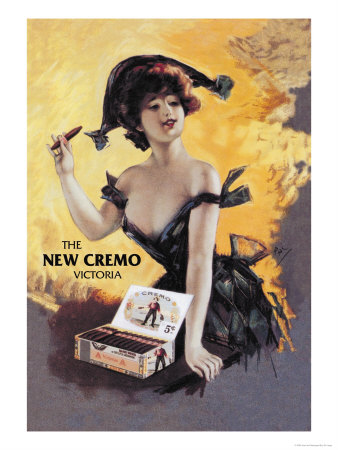 The New Cremo Victoria Cigar Premium Poster