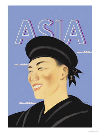 Japanese Sailor Posters by Frank Mcintosh