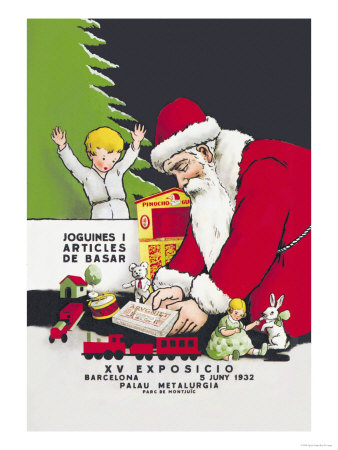 Fifteenth Exposition of Children's Toys Poster by Agusti Antiga