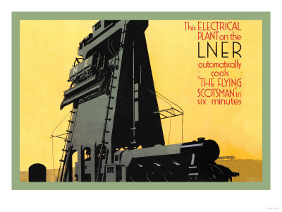 Automatic Coal in Six Minutes, The Flying Scotsman Posters