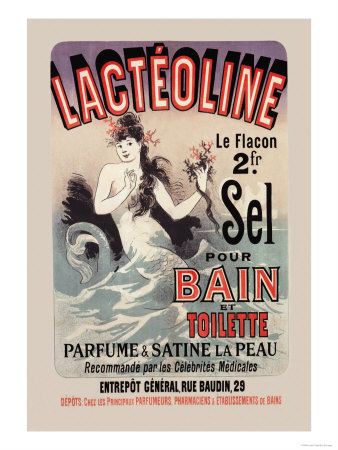 Lacteoline Posters by Jules Chéret