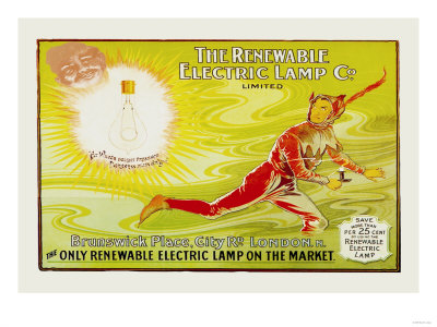 The Renewable Electric Lamp Company Ltd. Premium Poster