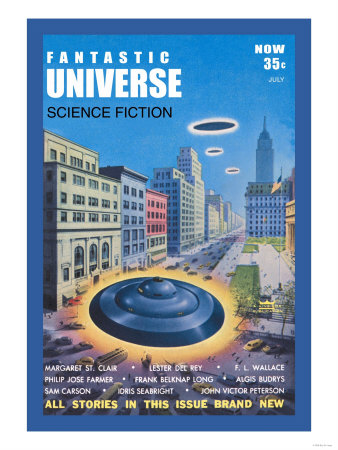 Fantastic Universe: Ufos in New York Poster